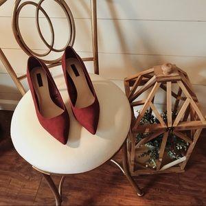 Forever 21 Pointed Toe Heels